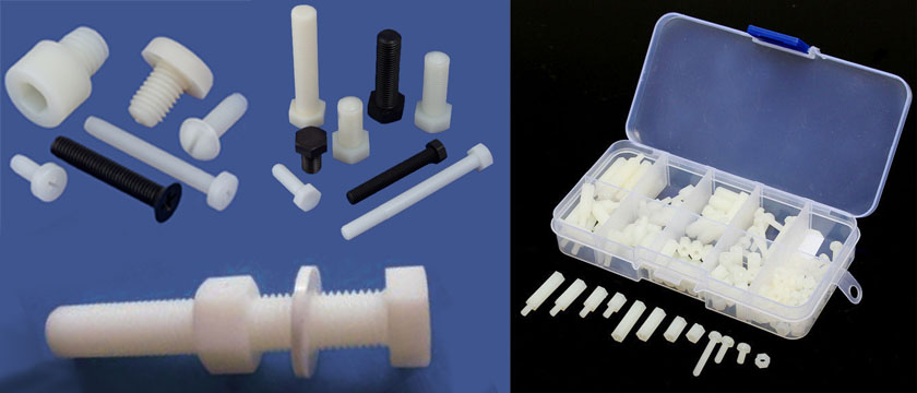Nylon Screws manufacturers, suppliers, dealers in India